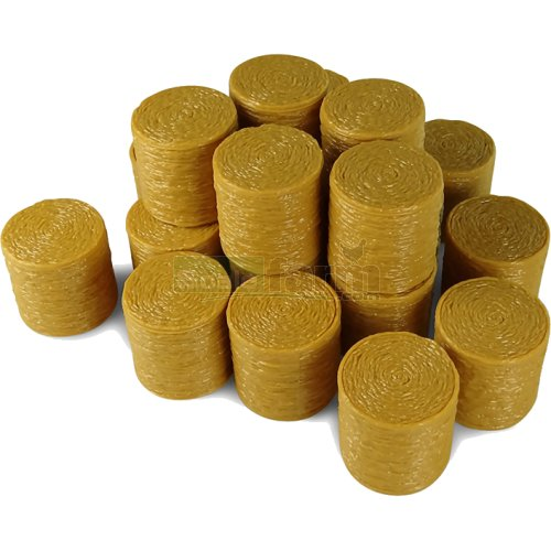 Round Hay Bales (Pack of 20) (Universal Hobbies 9750)