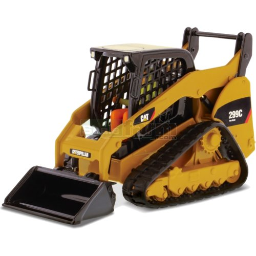 CAT 299C Compact Skid Steer Track Loader (Diecast Masters 85226)