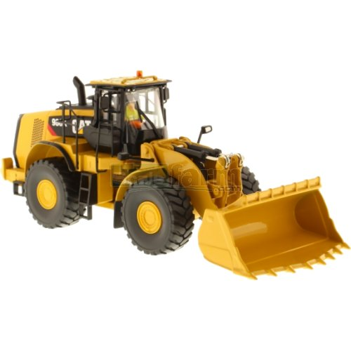 CAT 980K Wheel Loader Rock Configuration (Diecast Masters 85296)