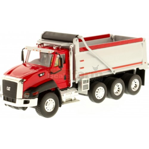 CAT CT660 Dump Truck - Red (Diecast Masters 85502)