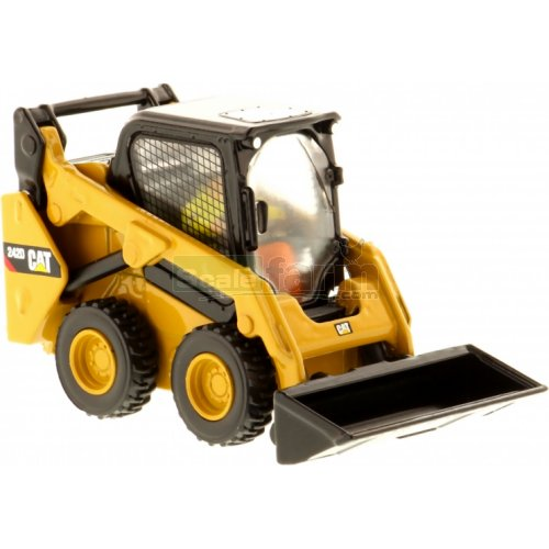 CAT 242D Skid Steer Loader (Diecast Masters 85525)