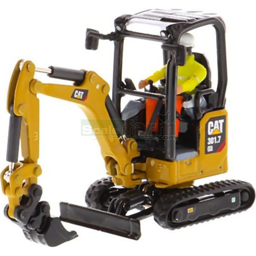 CAT 301.7 CR Mini Hydraulic Excavator (Diecast Masters DM85597)