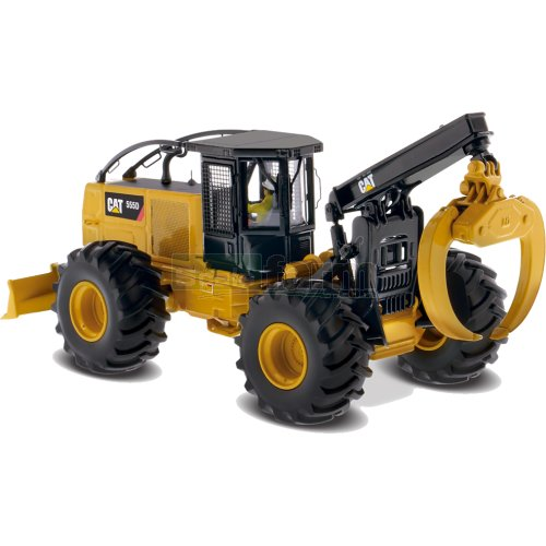 CAT 555D Grapple Skidder (Diecast Masters 85932)