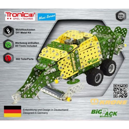 Krone BiG Pack 1290 XC HDP Baler Construction Kit (Tronico 10051)