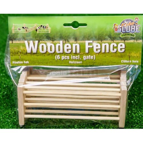 Set of 6 Wooden Fences (Kids Globe 610102)
