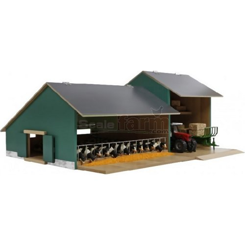 Wooden Cattle / Machinery Shed (Kids Globe 610200)