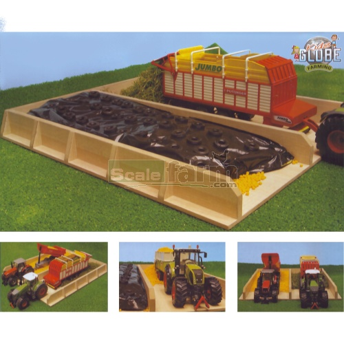 Wooden Silo Tray (Kids Globe 610451)
