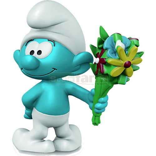 Smurf with Bouquet (Schleich 20798)