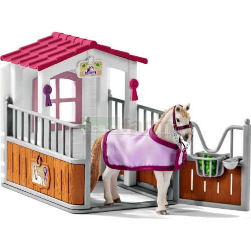Horse Stall with Lusitano Mare (Schleich 42368)