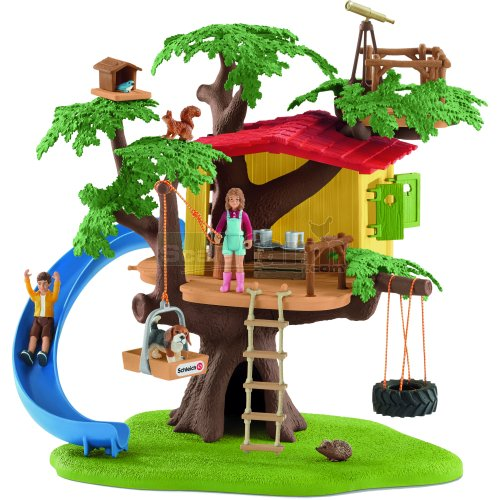 Adventure Tree House with Figures and Accessories (Schleich 42408)